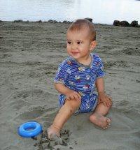 Внимание, малыши на пляже!